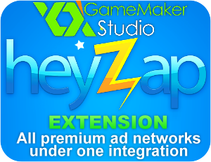 Heyzap Mediation Ads Extension for GameMaker: Studio